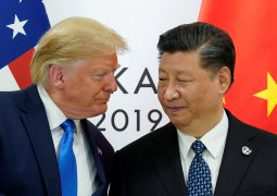 President Trump hails US farmers for help in trade war with China