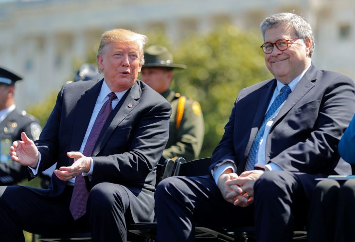 WASHINGTON POST: Barr sends a message: Don't ever investigate the president again