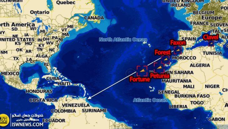 Venezuela military to escort Iranian fuel tankers: defense minister