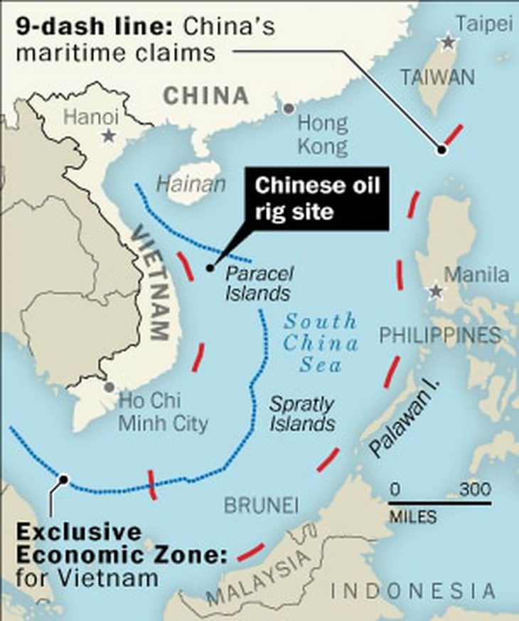 CHINA VS VIETNAM: Vietnam protests Beijing's 'fishing ban' in South China Sea