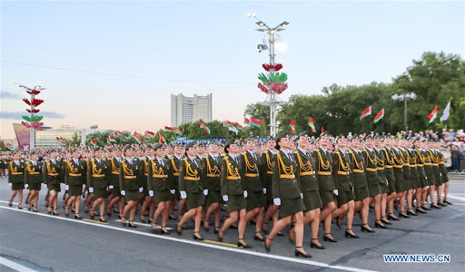 Among CIS countries, only Belarus holds massive Victory Day parade