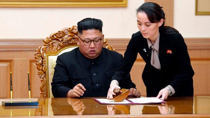 Kim Jong Un's sister threatens military action against South Korea