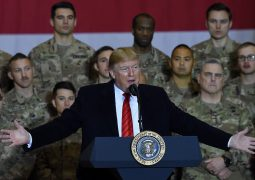 4000 troops are already at home: President trump delivered on a deal:  US has hit agreed troop-cut target of 8,600 in Afghanistan