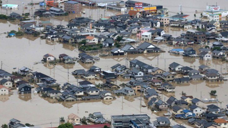 Biblical proportions floodings in Japan: At Least 179 Dead in Japan's Calamitous Flooding And this natural disaster will be won by brave Japanese