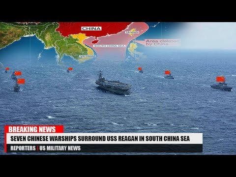 China Threatens In Paracels; Three US Carrier Groups Sail The Philippine Sea