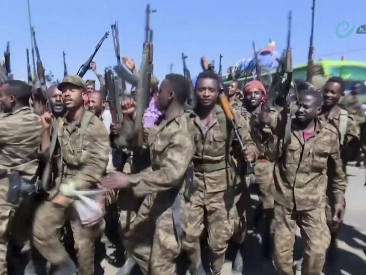 Federal troops are surrounding the  capital – Mekelle. Tigrays fighting to the end with Oromos