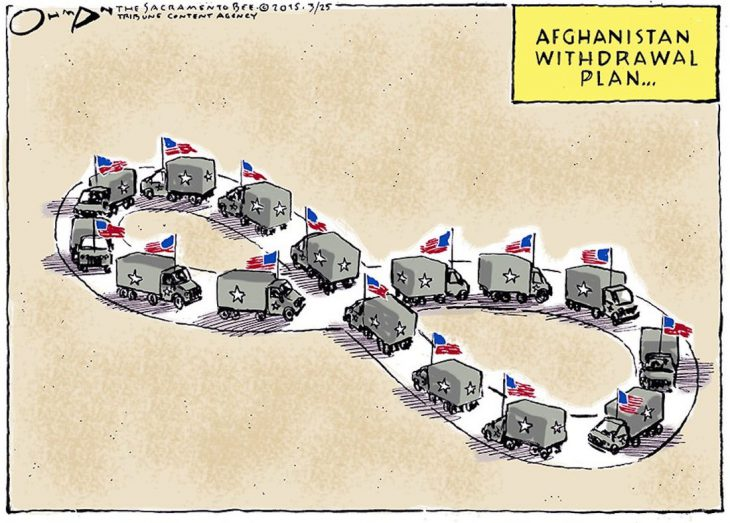 US had decided: will leave Afghanistan soon…..