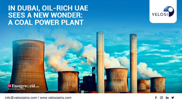 Oil rich Emirates to build coal power plant with Chinese help