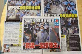 In Pictures: Hongkongers clear shelves of Apple Daily in protest over Jimmy  Lai arrest and newsroom raid | Hong Kong Free Press HKFP